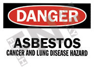 Cancer and lung disease hazard Sign 1