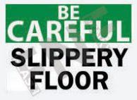 Slippery floor Sign 1