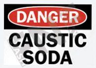 Caustic soda Sign 1