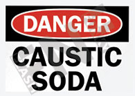Caustic soda Sign 1
