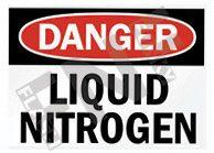 Liquid nitrogen Sign 1