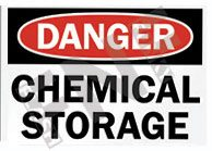 Chemical storage Sign 1