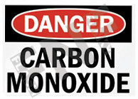 Carbon monoxide Sign 1