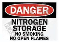 Nitrogen storage Sign 1