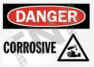 Danger – Corrosive