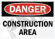 Danger – Construction area