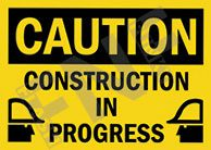 Caution – Construction in progress