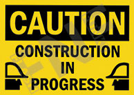Caution – Construction in progress