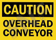 Notice – Overhead conveyor