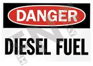DIESEL SAFETY SIGNS