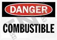Danger – Combustible