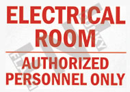 Electric room – Authorized personnel only