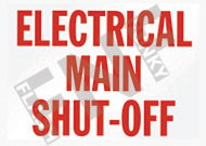 Electrical main shut-off
