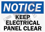 Notice – Electrical closed