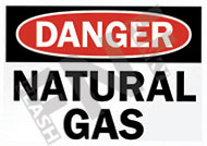 Danger – Natural gas