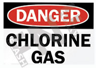 Danger – Chlorine gas