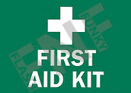 First aid kit Sign 1