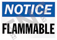Notice – Flammable