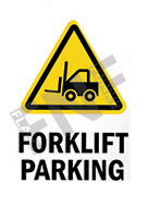 Forklift parking