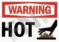 Warning – Hot