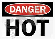 Danger – Hot