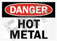 Danger – Hot metal
