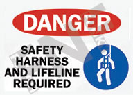 HARNESS SAFETY SIGNS