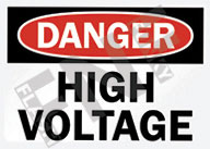 Danger – High voltage