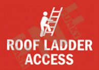 Roof ladder access