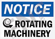 Notice – Rotating machinery