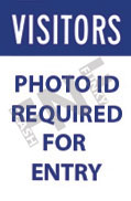 Visitors – Photo ID required for entry