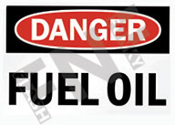 Danger – Fuel oil