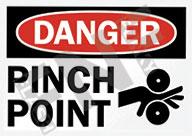Danger – Pinch point