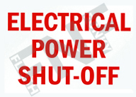 Electric power shut-off