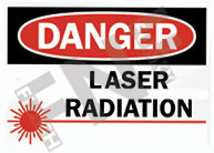 Danger – Laser radiation