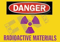 Danger – Radioactive materials