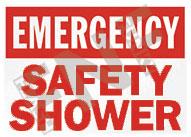 Emergency – Safety shower