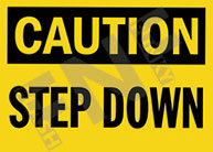 Caution – Step down