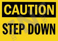 Caution – Step down