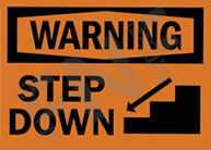 Warning – Step down