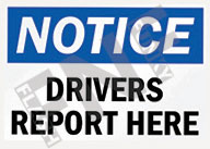 Notice – Drivers report here