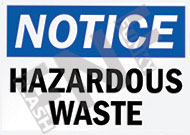Notice – Hazardous waste
