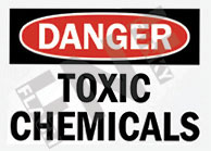 Toxic chemicals Sign 1