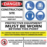 Custom Safety Sign 1