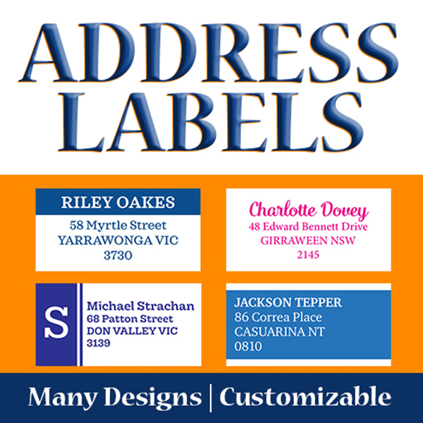 Address Label 100 x 50 mm